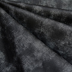 Distressed Print Ponte Knit Black - Fabric - Style Maker Fabrics