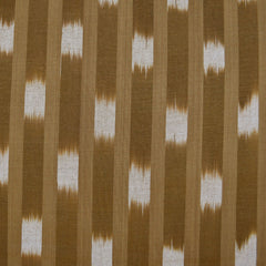 Boro Wovens Stripe Ikat Shirting Flax - Fabric - Style Maker Fabrics