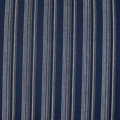 Boro Wovens Multi Stripe Shirting Indigo - Fabric - Style Maker Fabrics