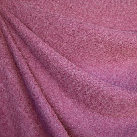Designer Soft Brushed Sweater Knit Raspberry
