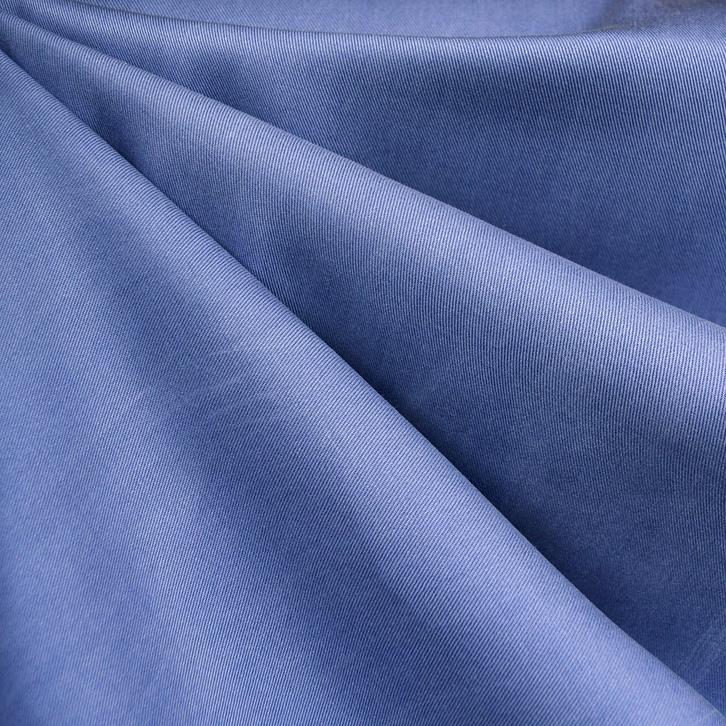 Soft Tencel Twill Solid Periwinkle - Sold Out - Style Maker Fabrics