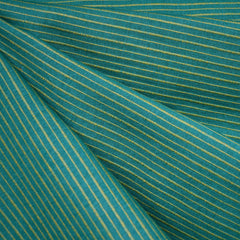 Mariner Cloth Stripe Shirting Grasshopper - Fabric - Style Maker Fabrics