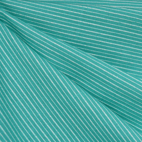 Mariner Cloth Stripe Shirting Jade