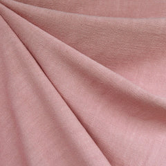 Slub Texture Linen Blend Solid Rose - Fabric - Style Maker Fabrics