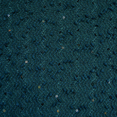 Sequin Boucle Textured Sweater Knit Jade - Fabric - Style Maker Fabrics