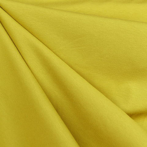 Designer Cotton Jersey Knit Solid Citron