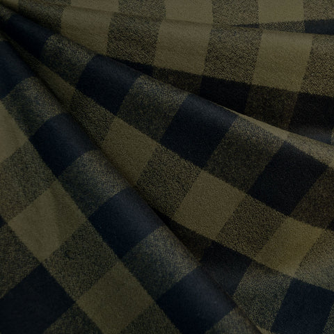 Mammoth Flannel Buffalo Check Black/Olive