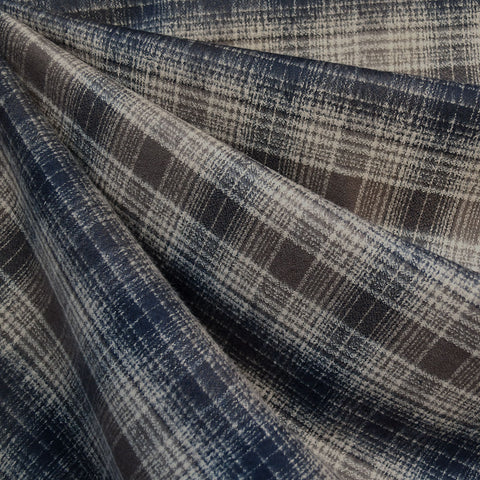 Mammoth Flannel Plaid Espresso/Taupe