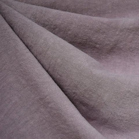 Soft Washed Linen Solid Orchid