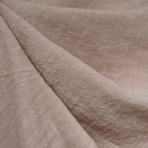 Soft Washed Linen Solid Mauve
