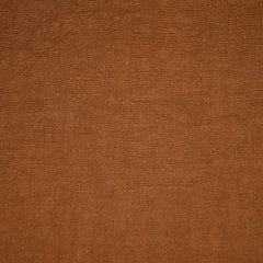 Soft Washed Linen Shirting Solid Rust - Fabric - Style Maker Fabrics