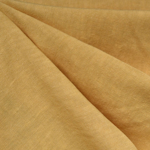 Soft Washed Linen Solid Canary