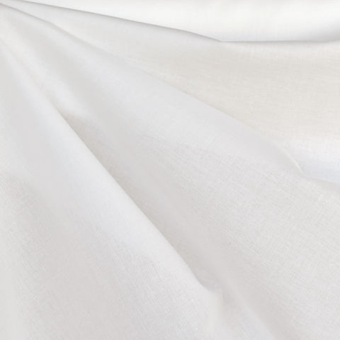 Cotton Voile Solid Winter White