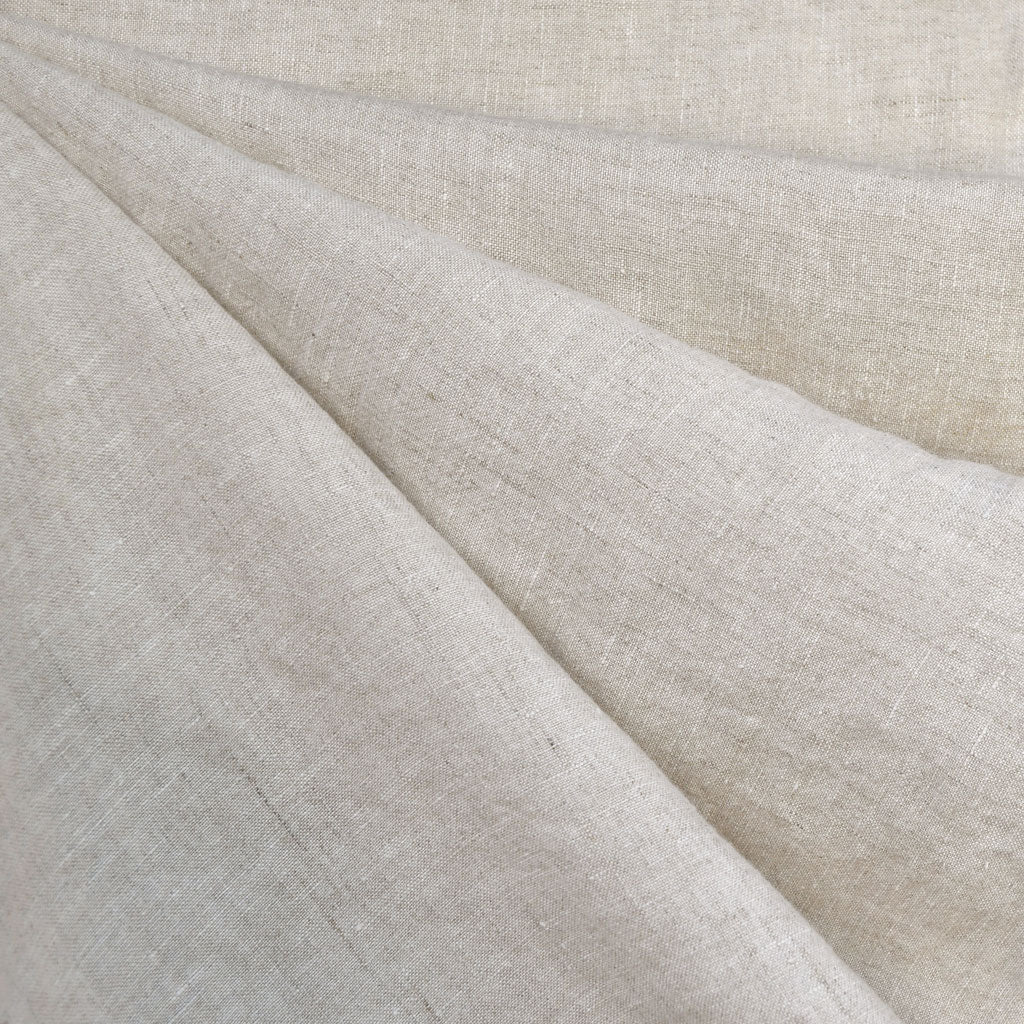 Soft Washed Linen Solid Natural SY - Sold Out - Style Maker Fabrics