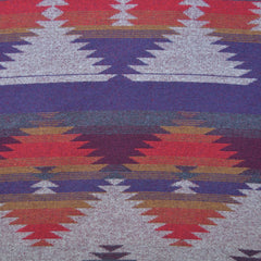 Reversible Southwest Inspired Wool Blend Coating Red - Fabric - Style Maker Fabrics