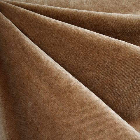 Stretch Pinwale Corduroy Solid Pecan