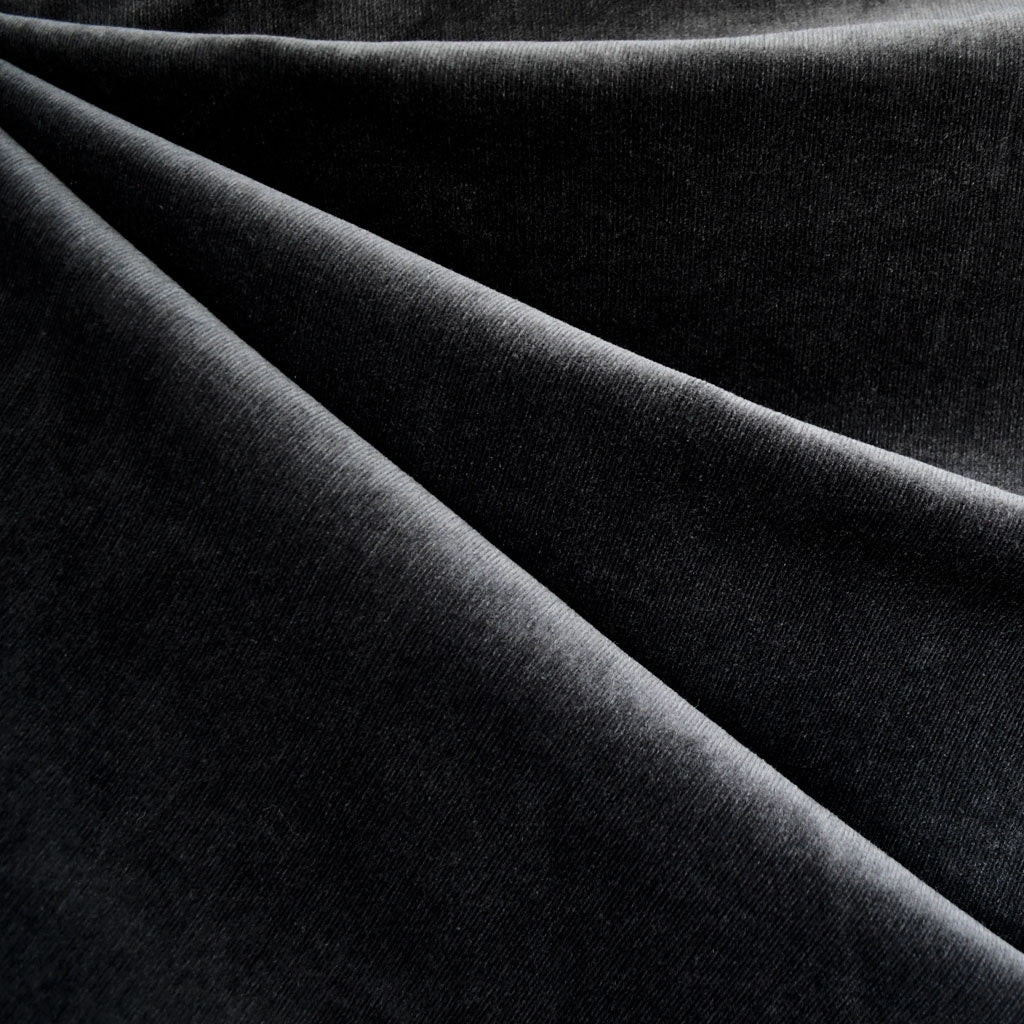 Stretch Pinwale Corduroy Solid Black—Preorder - Fabric - Style Maker Fabrics