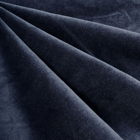 Stretch Pinwale Corduroy Solid Navy