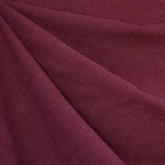 Slub Texture Linen Blend Solid Burgundy SY - Sold Out - Style Maker Fabrics