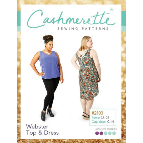 Cashmerette Sewing Patterns Webster Top & Dress