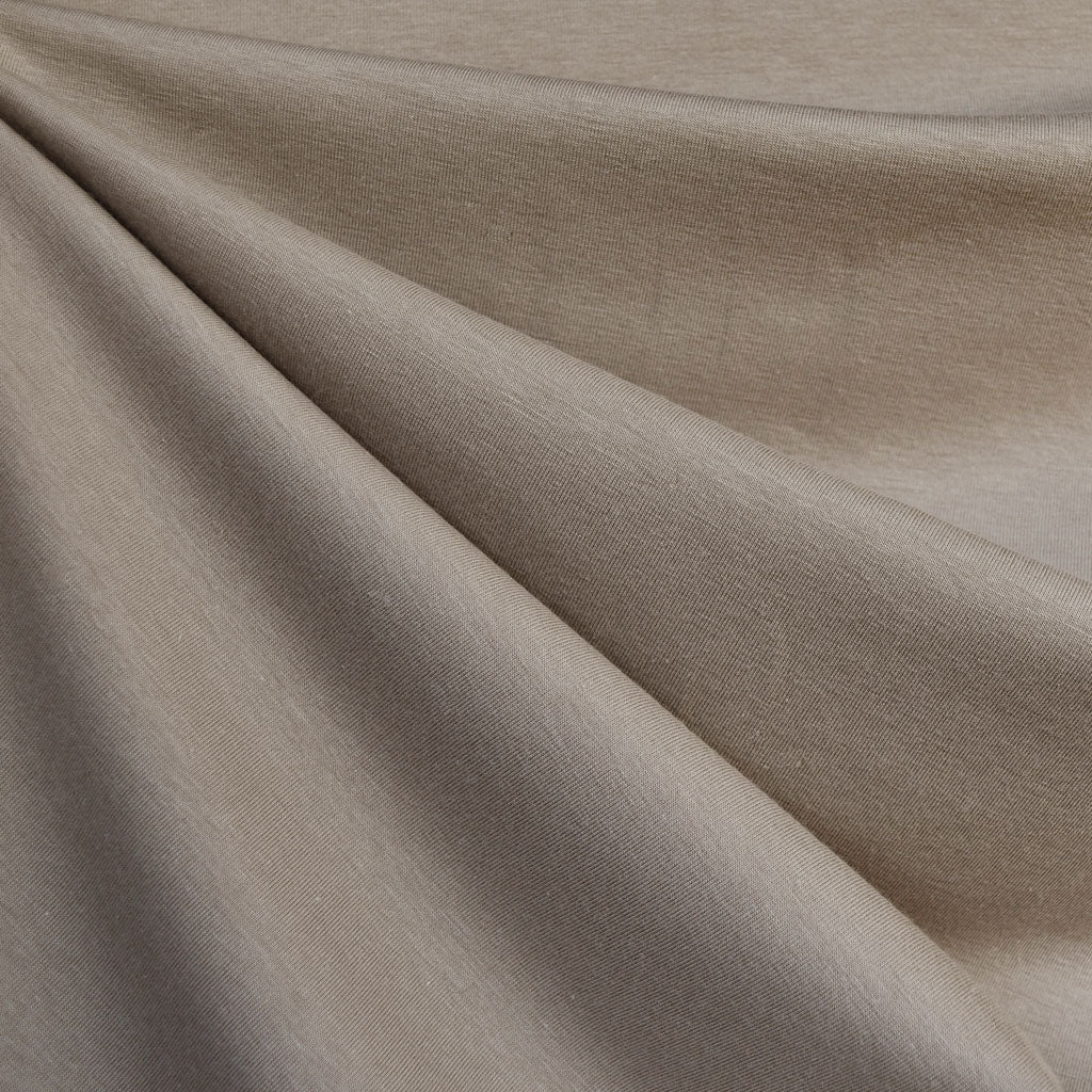 Cotton Modal Jersey Knit Solid Sand SY - Sold Out - Style Maker Fabrics