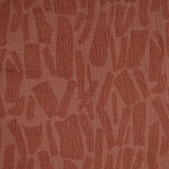 Animal Print Texture Jacquard Shirting Solid Rust - Fabric - Style Maker Fabrics