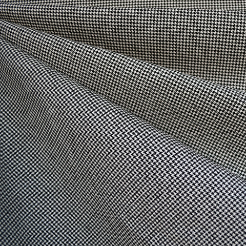 Mini Houndstooth Bottom Weight Black/Vanilla