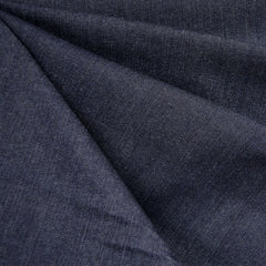 Textured Mid Weight Stretch Denim Indigo - Sold Out - Style Maker Fabrics