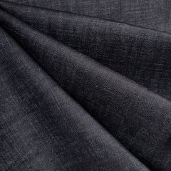 Mid Weight Slub Texture Denim Deep Indigo - Fabric - Style Maker Fabrics