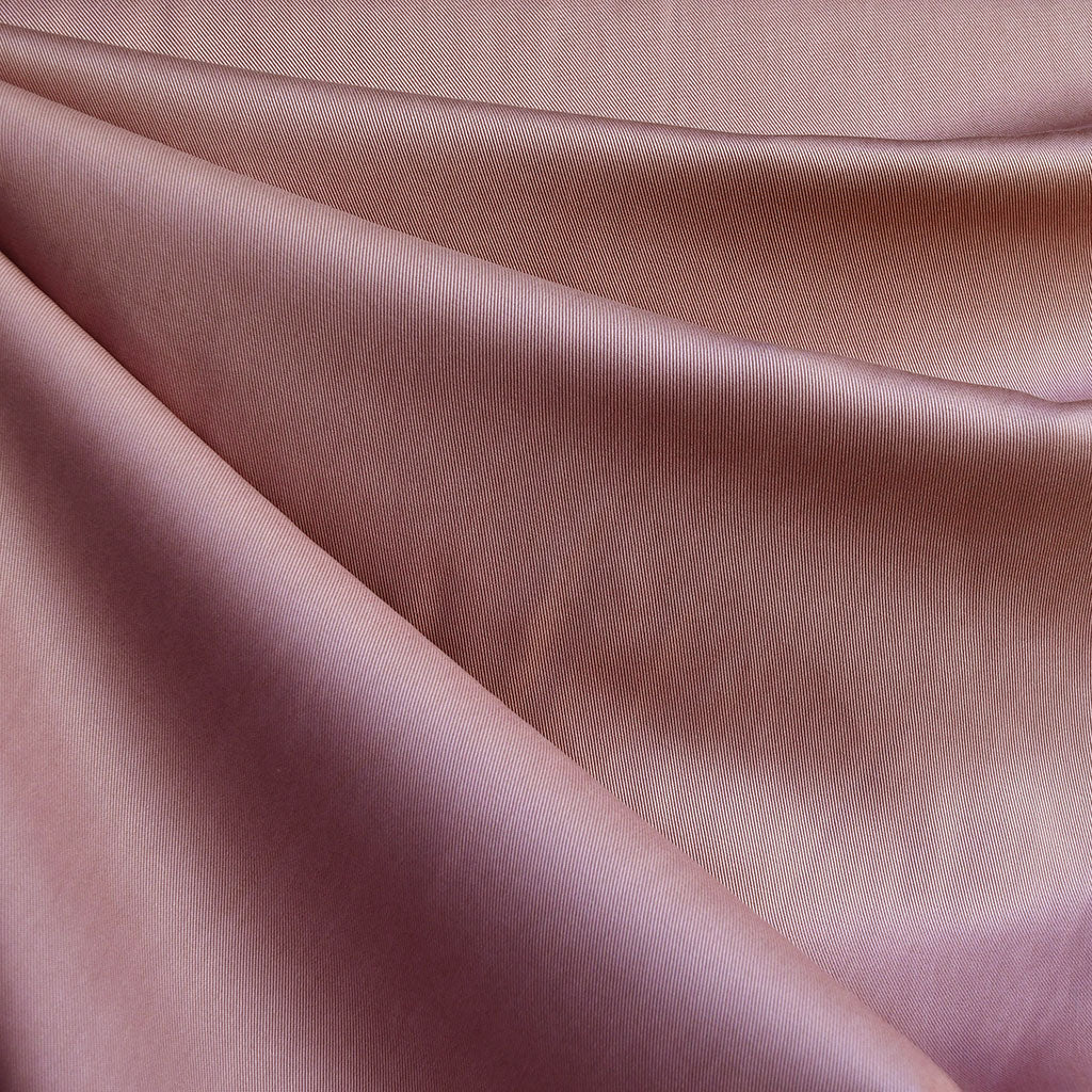 Tencel Twill Solid Bottom Weight Rose - Fabric - Style Maker Fabrics