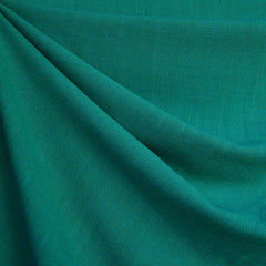 Slub Texture Linen Blend Solid Emerald SY - Sold Out - Style Maker Fabrics