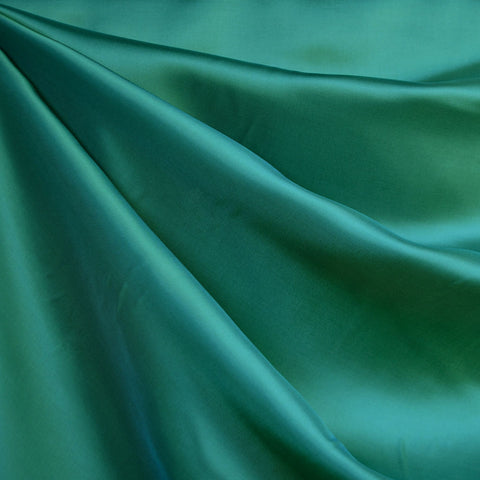 Bemberg Rayon Lining Solid Emerald