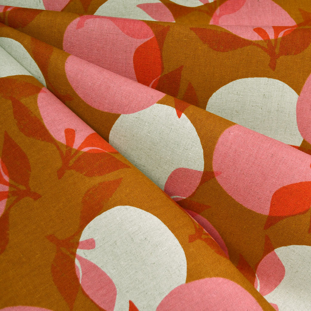 Ruby Star Layered Peaches Canvas Caramel - Sold Out - Style Maker Fabrics