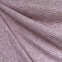 Ultra Plush Stripe Texture Sweater Knit Rose - Fabric - Style Maker Fabrics