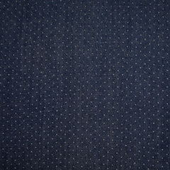 Pin Dot Tencel Denim Shirting Indigo - Sold Out - Style Maker Fabrics