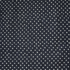 Star Dot Tencel Denim Shirting Indigo SY - Sold Out - Style Maker Fabrics