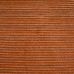 Plush Corduroy Velour Knit Solid Rust - Fabric - Style Maker Fabrics