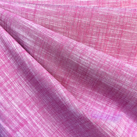 Manchester Yarn Dyed Cotton Shirting Berry