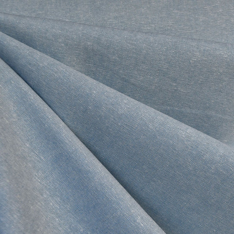 Essex Yarn Dyed Linen Blend Chambray—Preorder