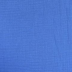 Cotton Double Gauze Solid Cornflower Blue SY - Sold Out - Style Maker Fabrics