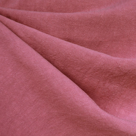 Soft Washed Linen Solid Petal