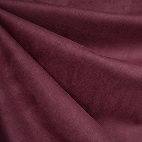 Reversible Buttery Suede Knit Solid Wine