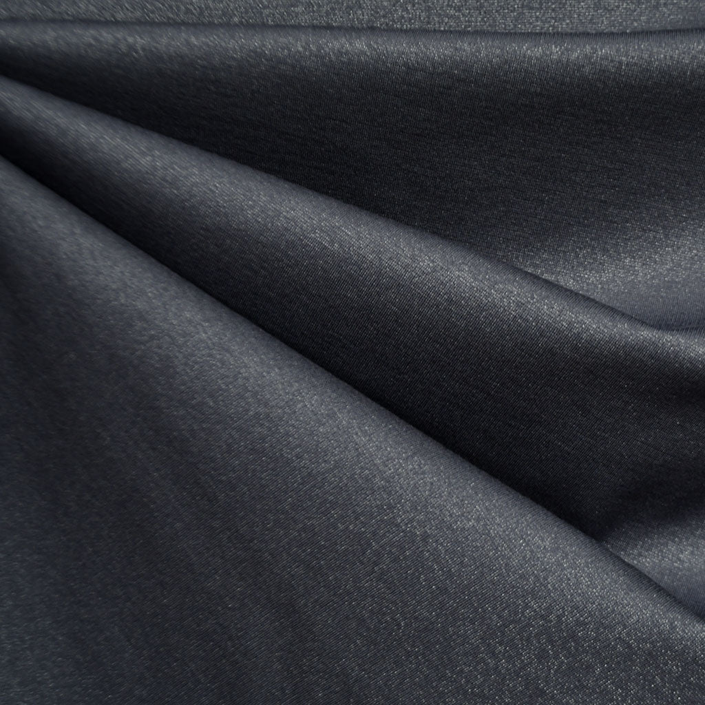 Touch of Sparkle Ponte Knit Solid Slate - Fabric - Style Maker Fabrics