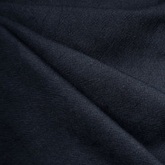 India Textured Cotton Cloth Navy - Fabric - Style Maker Fabrics