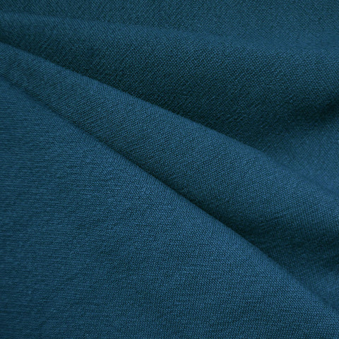 India Textured Cotton Cloth Ocean