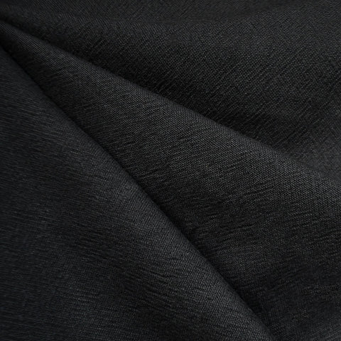India Textured Cotton Cloth Black