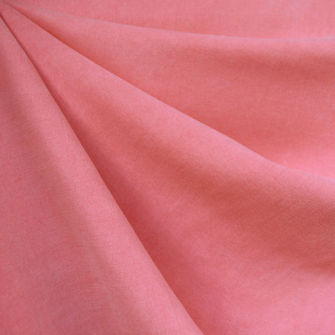 Soft Washed Tencel Twill Solid Melon