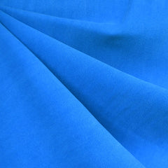 Soft Washed Tencel Twill Solid Azure Blue - Fabric - Style Maker Fabrics