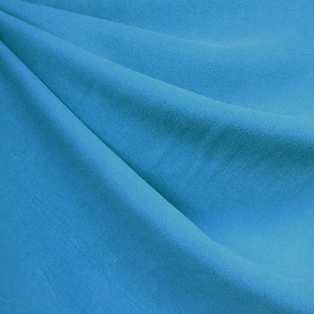 Soft Washed Tencel Twill Solid Aqua SY - Sold Out - Style Maker Fabrics