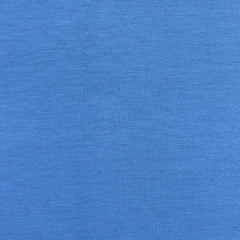 Soft Rayon Jersey Knit Solid Blue - Fabric - Style Maker Fabrics